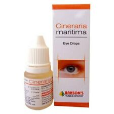 Eye Drops 10 ml Bakson's Homeopathy Cineraria Maritima For Control Cataract +FSW