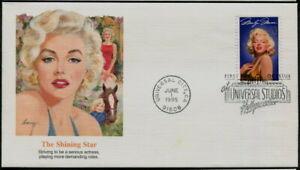 MARILYN MONROE - 1995 USA 'THE SHINING STAR' Commemorative Cover [C0453]