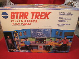 Vintage 1975 Mego Star Trek USS Enterprise Bridge Playset/Carrying Case