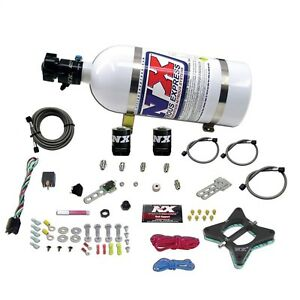 Nitrous Express 20946-10  4.6L 2 VALVE PLATE SYSTEM WITH 10LB BOTTLE