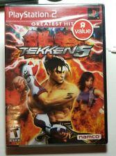 Tekken 5 (Sony PlayStation 2, 2005) Greatest Hits Brand New Factory Sealed TRU