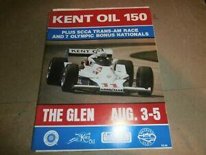 Vintage Race Program 1979 Watkins Glen Kent Oil 150 SCCA Tran-AM