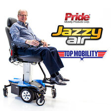 JAZZY AIR Powerchair Elevating Seat Height Pride Electric Wheelchair NEW + COVER