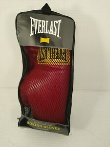 Everlast 14oz Laceless Boxing Gloves - Red (2964) Size 14