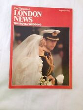 THE ILLUSTRATED LONDON NEWS THE ROYAL WEDDING AUGUST 1981 PRINCE CHARLES & DIANA