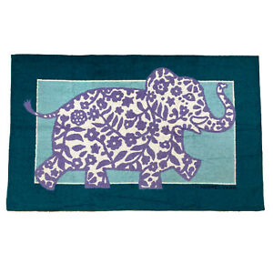 Hermès Beach Towel with Floral Elephant Design - Free Shipping USA