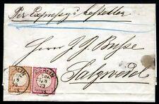 DR 1872 21+19 schöner EXPRESSBRIEF (Z0683