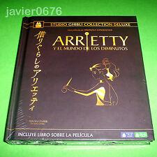 ARRIETTY Y MUNDO DE LOS DIMINUTOS STUDIO GHIBLI COLLECTION DELUXE BLU-RAY DVD