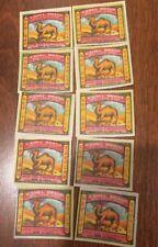 Large Lot of Vintage Camel Firecracker Penny Pack Labels