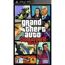 Used PSP  Grand Theft Auto Chinatown Wars SONY PLAYSTATION JAPAN IMPORT