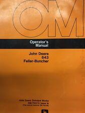 John Deere 643 Feller-Buncher Operator Manual
