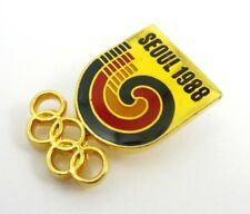 1988 Seoul Olympic Games  Official Logo Pin Badge