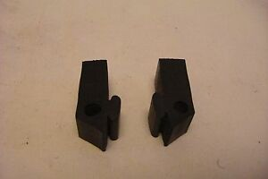 1978-1988 Olds Cutlass GM Cadillac Hood Side Bumpers,    **Pair**