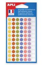 [Ref:102147] AGIPA Pochette 385 pastilles Ø 8 mm couleurs pastel assorties Ø