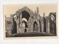Melrose Abbey Pulpitum & Quire RP Postcard 496a