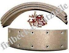 Bremsbelagsatz für HANOMAG I Perfekt 300-401 GRANIT 501 / 6mm Nietlöcher(neu)/