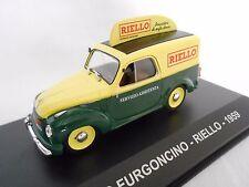 "FIAT 500C FURGONCINO ""RIELLO"" DE 1959 1/43ème"