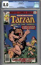 Tarzan #1 CGC 8.0 VF WHITE PAGES