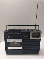 Sears Model 564 Am/Fm Radio Stereo Tape Cassette Recorder Vintage v bin7