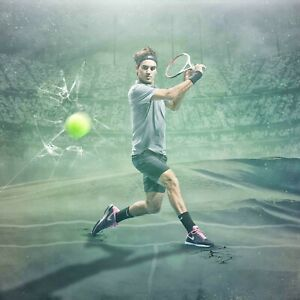 Roger Federer poster wall art home decor photo print 16, 20, 24