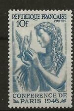 France 1946 - Sg984 - Paris Peace Conference. Girl holding Dove - Mlh