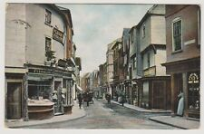 Herefordshire postcard - South Street, Leominster - P/U 1908