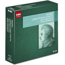 Daniel Barenboim - Mozart Complete Piano Sonatas And Varia (NEW 8CD)