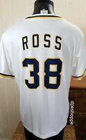 MLB SAN DIEGO PADRES BASEBALL TYSON ROSS # 38 WHITE SGA JERSEY ADULT SIZE XL