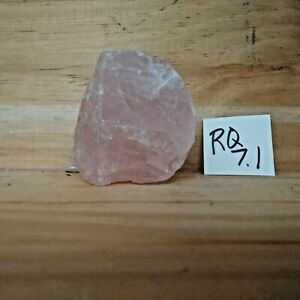 Rose Quartz Natural Raw Rough Mineral Specimen 7.1 oz