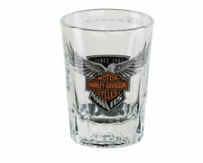 HARLEY-DAVIDSON® 115TH ANNIVERSARY LIMITED EDITION SHORT SHOT GLASS NEW IN BOX