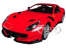 FERRARI F12 TDF RED 1/24 DIECAST MODEL CAR BY BBURAGO 26021