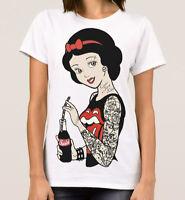 Snow White Punk Rock T-Shirt Disney, Men's Women's All Sizes