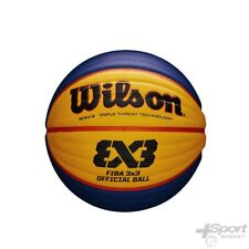 Wilson FIBA 3x3 Official 6 Yellow Blue Basket-ball