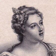Marie Madeleine de Parabère Favorite Régent Philippe d'Orléans Régence