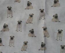 BIANCO MINI CARLINO cani Craft Tessuto Remnant 95 x 95 cm *** GRANDE ***