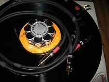 SME TONEARM INTERCONNECT RCA CABLE wGnd 8FT Thorens Garrard Technics Project