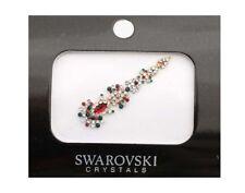 Bindi tilak long bijou de peau mariage front strass en cristal rouge FS13A 2702