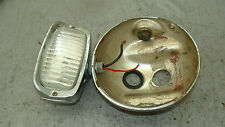 1971 SUZUKI T-500 TITAN OEM HEAD LIGHT BUCKET / FOG LAMP