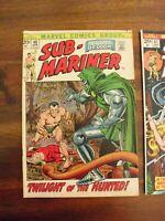 Sub-Mariner #48, FN+ 6.5, Doctor Doom
