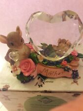 """Charming Tails """"A Mothers Love Is Crystal Clear Nib Mom Day"""