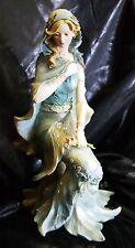 Nib Beautiful Muse Girl Woman Four Seasons Winter Nature Figurine Figure Decor