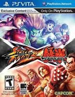 Street Fighter X Tekken (Sony PlayStation Vita, 2012) Brand New