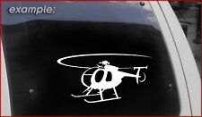 MD 500 Helicopter Decal Police Sticker