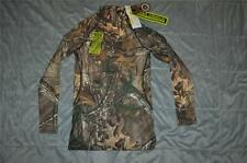 Under Armour Womens Small Scent Control Fitted Mock 1230915 946 Realtree Xtra
