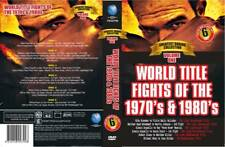 WORLD TITLE FIGHTS 1970's & 1980's-6 DVD SET BOXING DVD - PLUS FREE DVD SPECIAL
