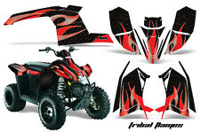 Polaris Scrambler AMR Racing Graphics Sticker Kit 10-12 ATV Quad Decals FLAMES R