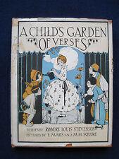 ROBERT LOUIS STEVENSON A Child's Garden of Verses - Mars & Squire Illustrations
