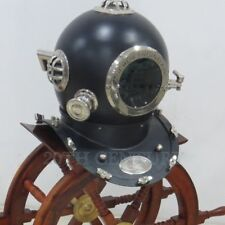 BOSTON DEEP SEA Mark IV DIVERS SCUBA ANTIQUE NAVY DIVING HELMET SOLID DECOR