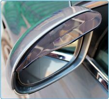 Sale Eyebrow Rearview 2 Pcs Auto Smoked Mirror Rain Board Sun Shield Water Guard