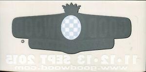 Goodwood Revival 2015 original sticker autocollant adhesivo Aufkleber